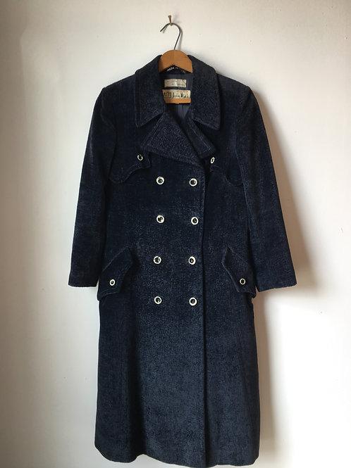 Vintage Italian Chenille Coat