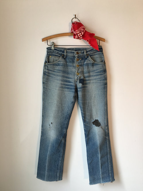 1970s Button-Fly Lee Jeans