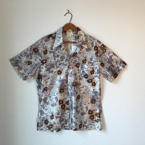1970s Flower Power Shirt