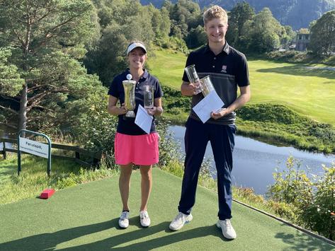 Trym og Marthe ble årets klubbmestere