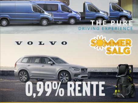 Sommerkampanje fra Frydenbø Bilsenter