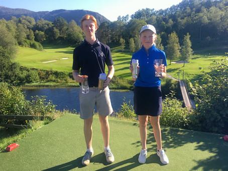 Lisa og Sander vant KM Junior