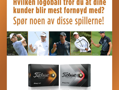 Corporate kampanje fra Titleist og FootJoy
