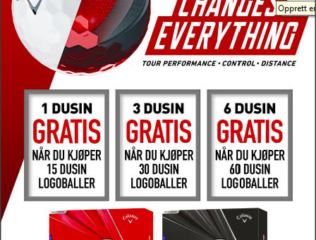 Logoballer til din bedrift