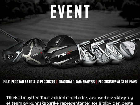 Velkommen til Titleist Fittingevent