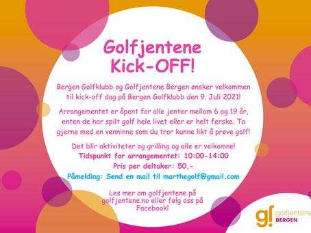 Golfjentene Kick-OFF!