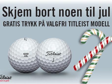 Golfballer i julegave?