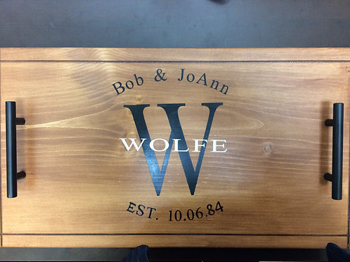 Customized Serving Tray