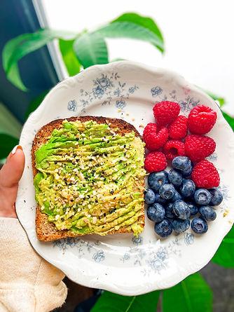 avocado toast and berries.jpg