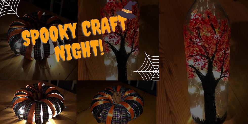Spooky Craft Night