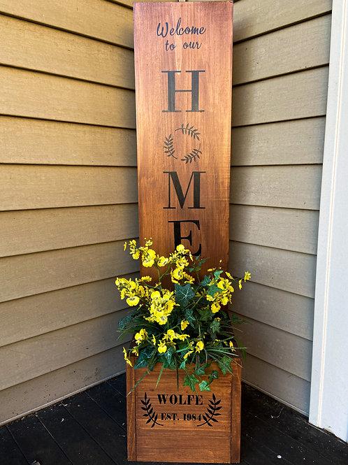 Custom Home Planter