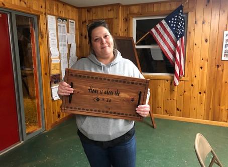 Wooden Tray Fundraiser