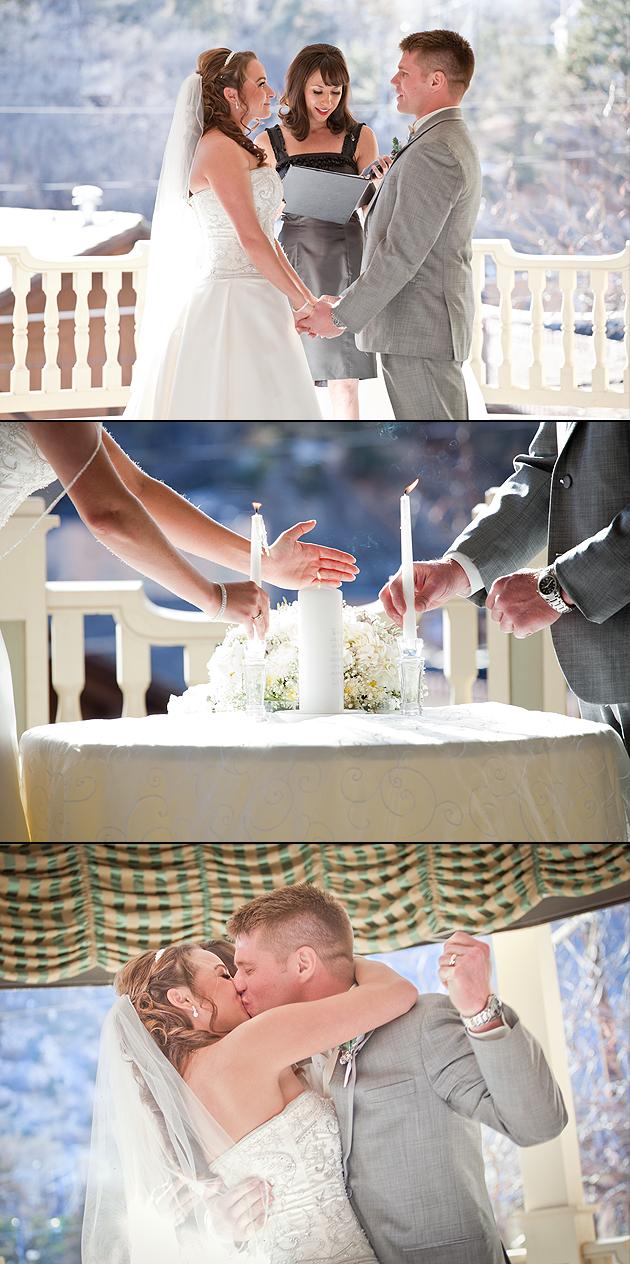 wedding ceremony Manitou Springs