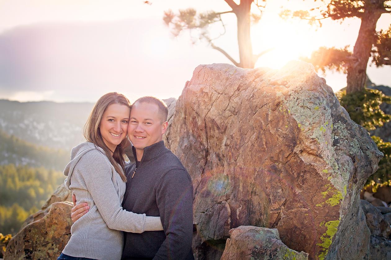 Engagement photographer Boulder