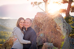 Engagement photographer Boulder
