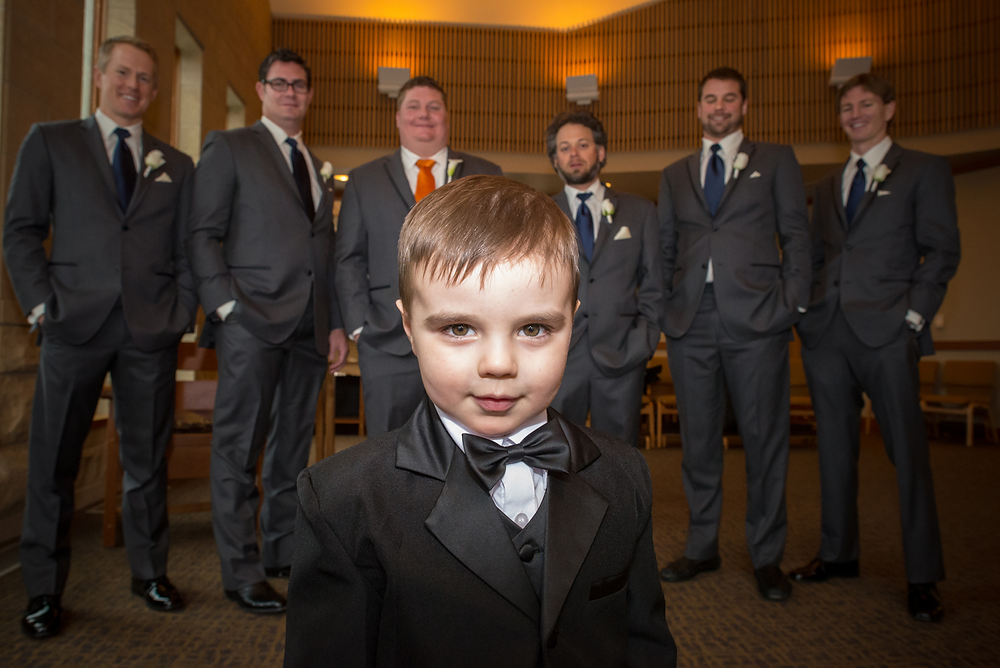 groomsmen ring bearer