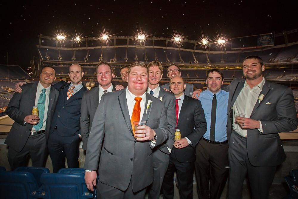 football wedding denver broncos