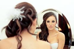 Bride reflection
