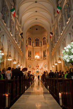 Cathedral wedding