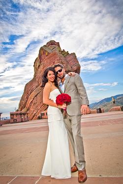 Redrocks Amphitheatre Wedding