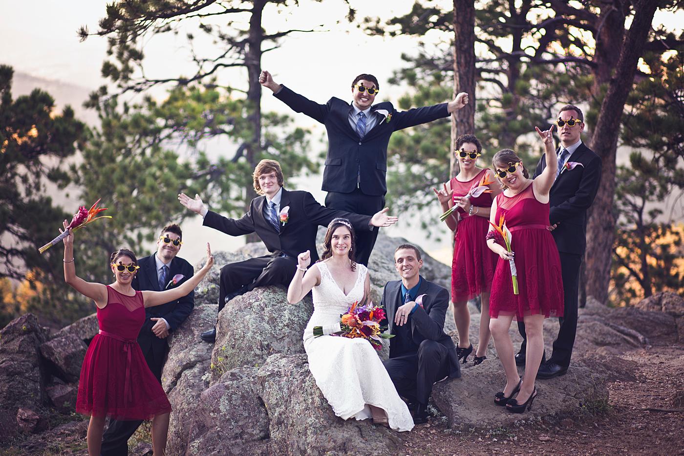 Golden Colorado wedding Photography