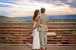 Redrocks Sunrise Wedding