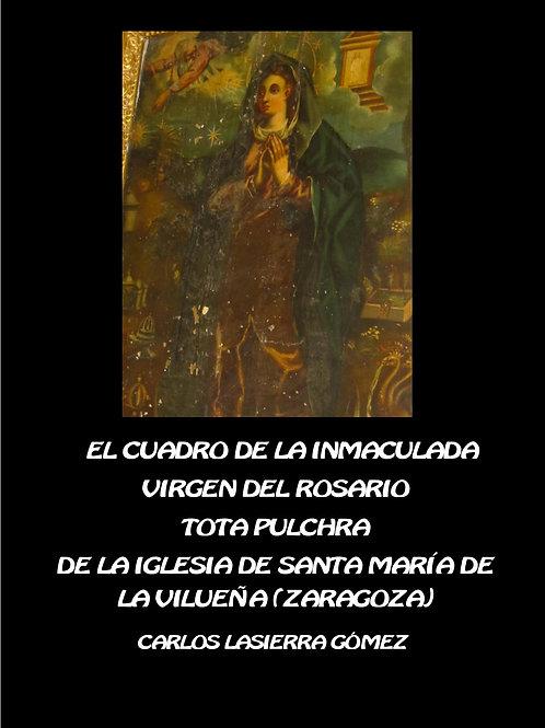 El cuadro de la Inmaculada..en La Vilueña