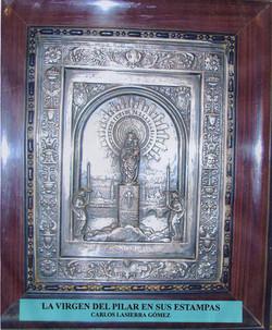 La Virgen del Pilar en sus estampas