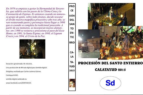 Procesión del Santo Entierro de Calatayud 2015.