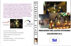 Procesion del Santo Entierro. Calata