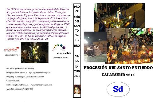 Procesión del Santo Entierro. Calatayud 2015