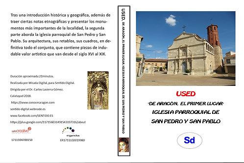 """Used. """"De Aragón el primer lugar"""". Iglesia parroquial de San Pedro y San Pablo"""