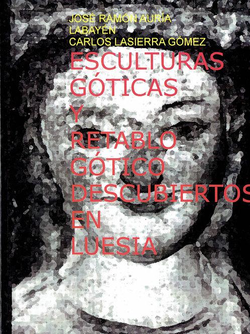 Esculturas góticas y retablo gótico descubiertos e