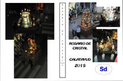 ROSARIOde cristal 2015.Calatayud
