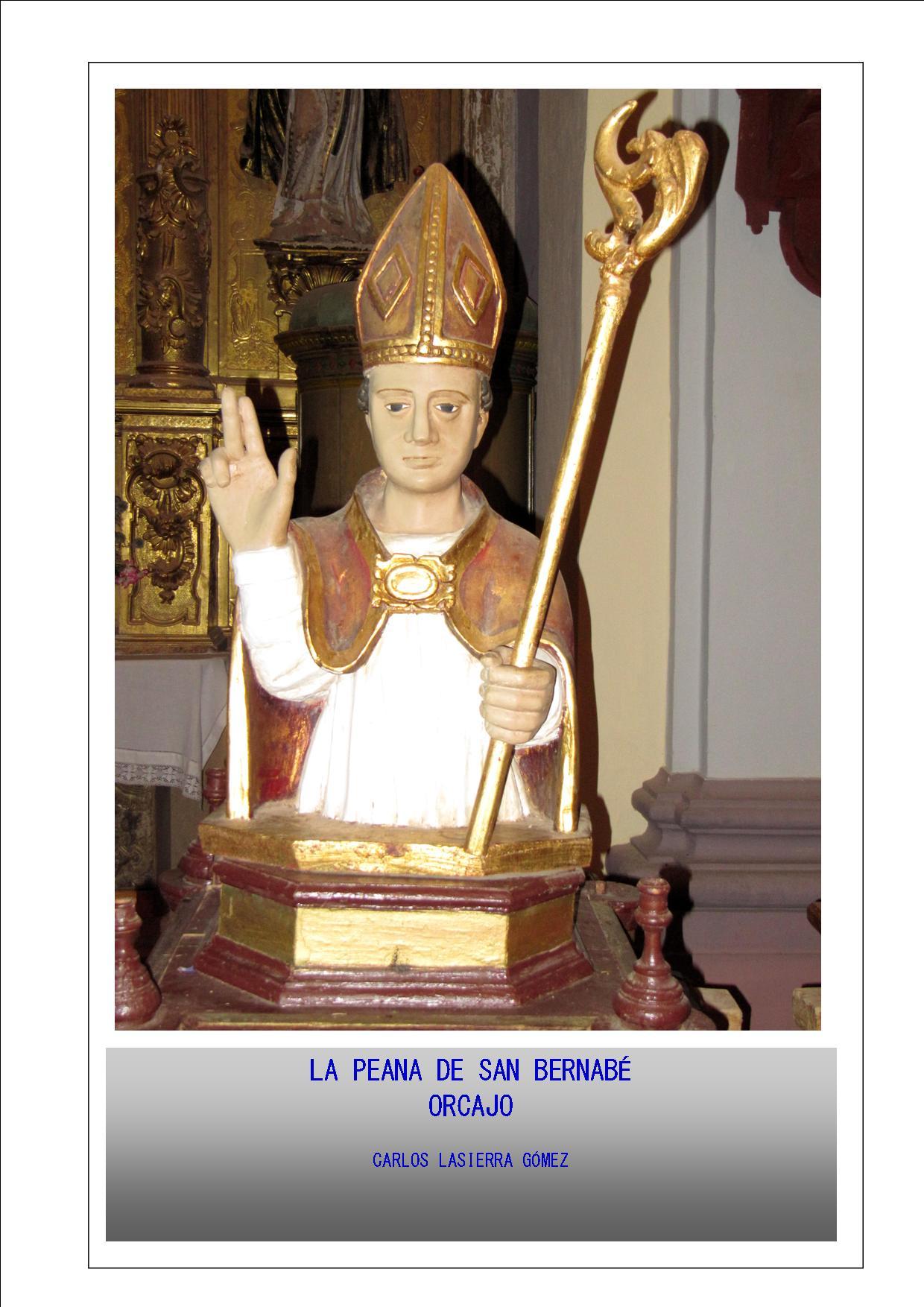 La Peana de San Bernabé.