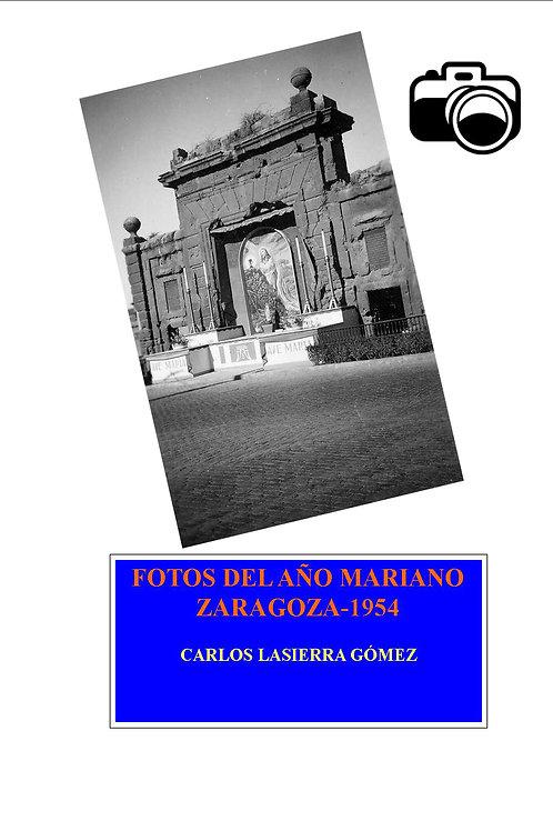 Fotos de año mariano. 1954. Zaragoza