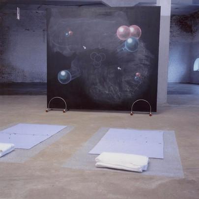installation views z.t. (heavenly bodies)
