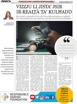 RGF's article on It-Torċa (30.05.21)