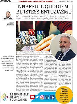 RGF's article on It-Torċa