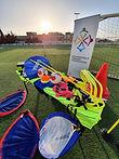 Training equipment by the RGF to Mtarfa FC Youth Football Nursery