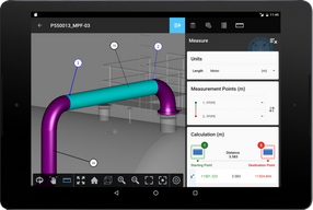 Measure Assets in the Plant Digital Twins