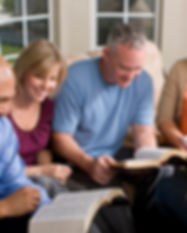 People Studying Bible