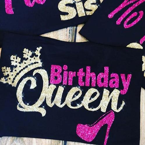 Birthday Queen Shirt 3
