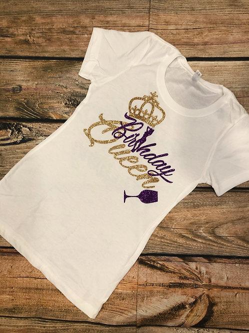 Birthday Queen & Entourage Shirts