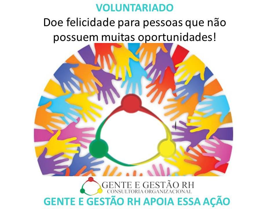 Gente e Gestão RH Voluntariado