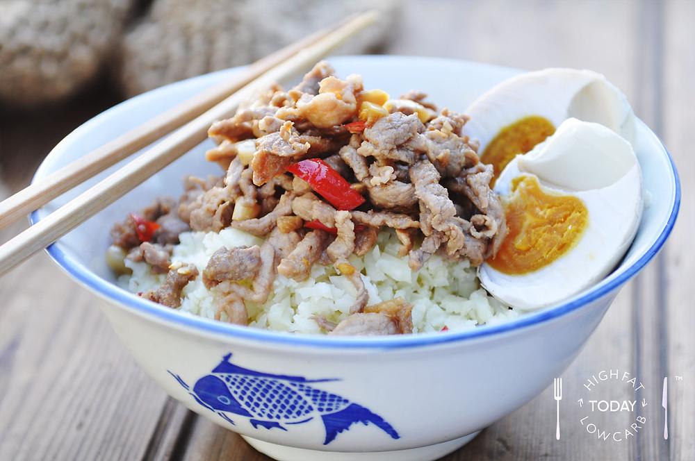 LCHF CYMA Rice dish