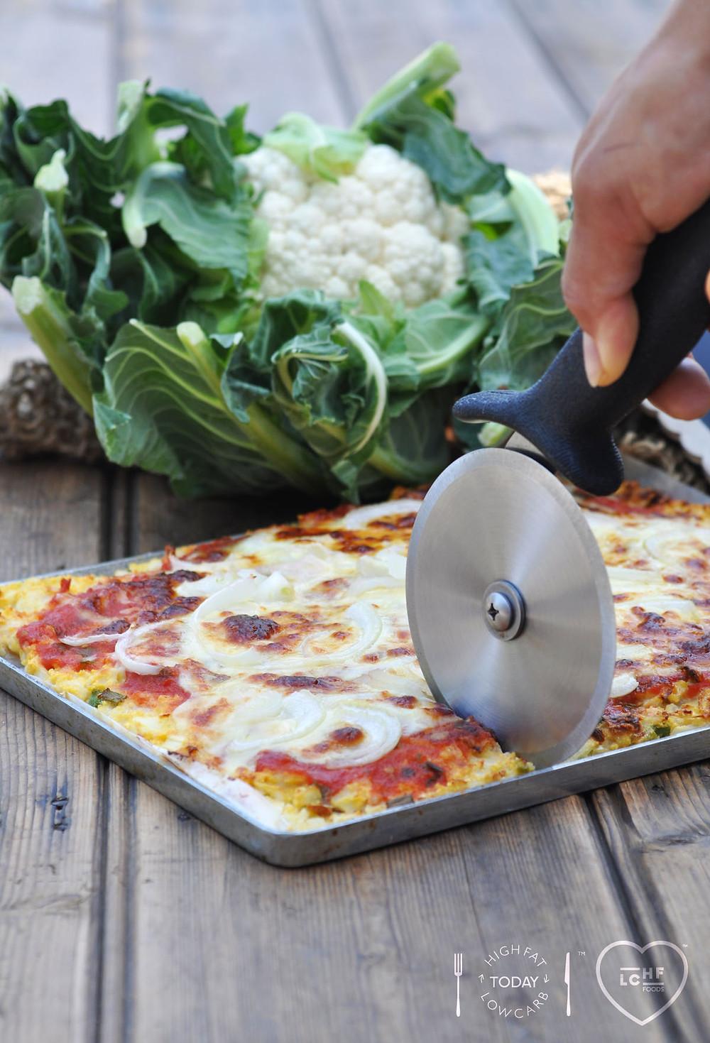 CYMAZZA Cauliflower style Pizza