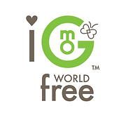 I Love GMO World Free Logo Trademark