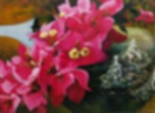 Laag over laag geschilderd met ei-tempera