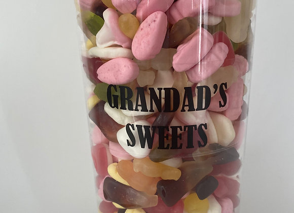 Large Grandad Pic n Mix Jar